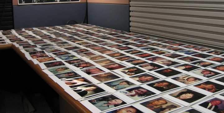 Polaroid Prints - Men Without Facial Hair - 41