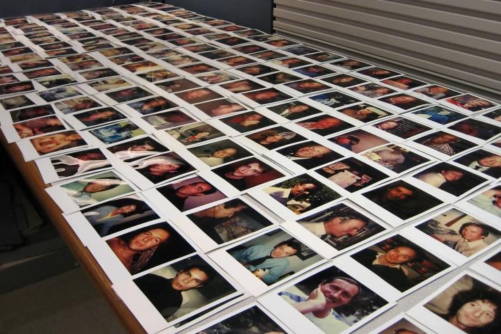 Polaroid Prints - Men Without Facial Hair - 6