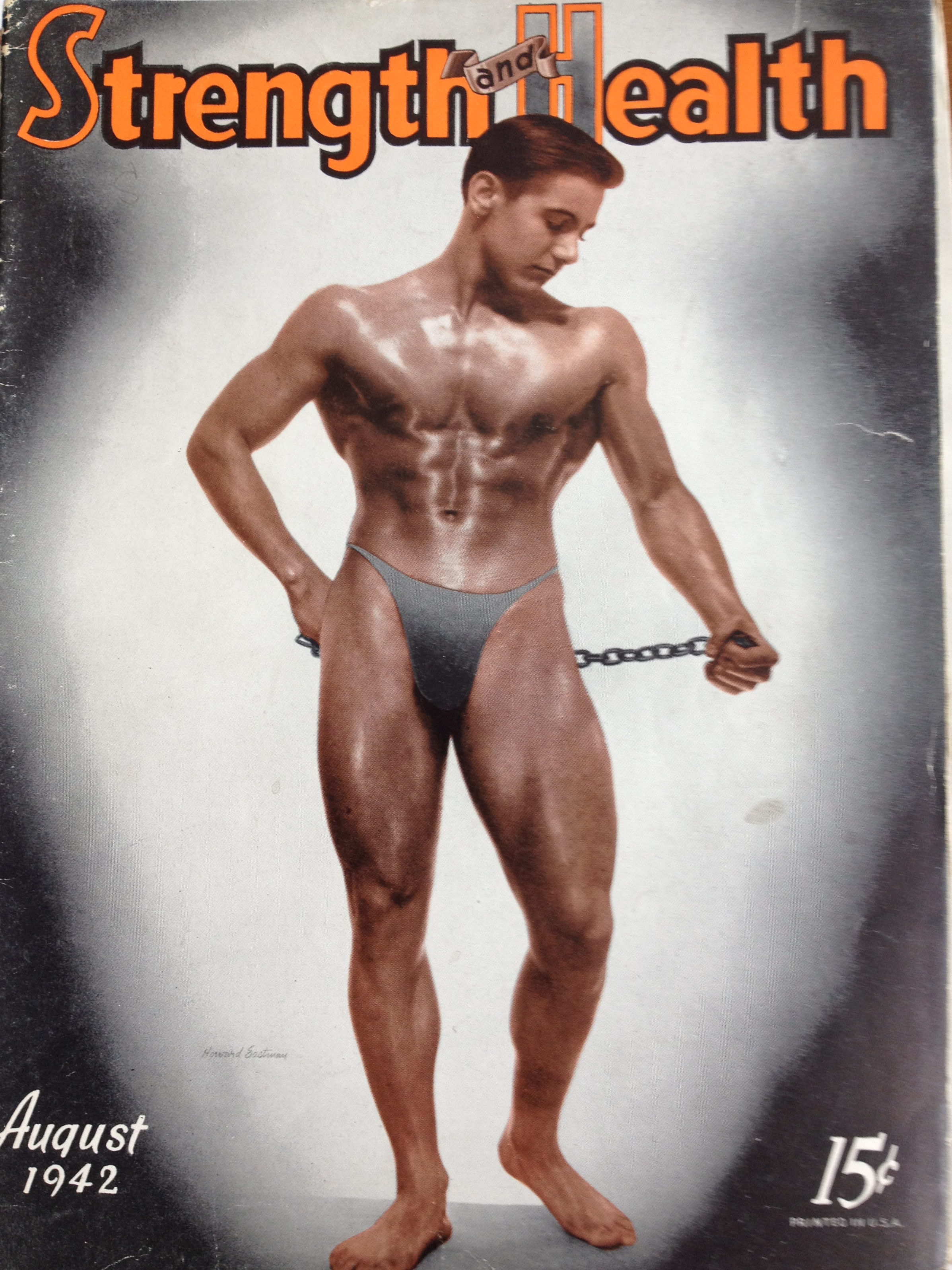 Vintage Muscle Power Bodybuilding fitness magazine LeRoy Colbert 11-53