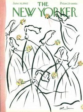 Cover of New Yorker Magazine, June 16, 1962 -- the issue which carried the first of four parts of Rachel Carson's Silent Spring.